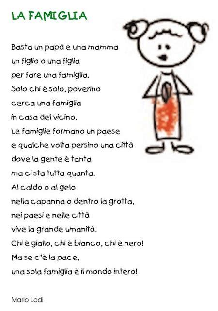 poesia diritti dei bambini poesia sulla famiglia