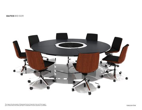 Circle Meeting Table Image Gallery