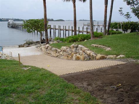 Home Driveway Design Ideas boat ramps soil retention