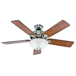 best ceiling fan shop pro s best 5 minute fan 52 in brushed nickel