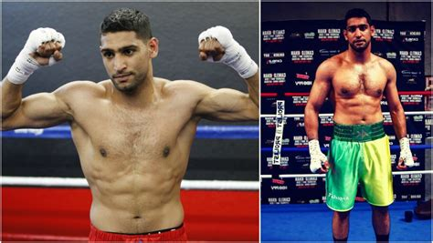 boxer weight amir khan and in boxing world