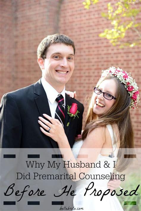 Even Had Premarital by Why My Husband I Did Premarital Counseling Before He