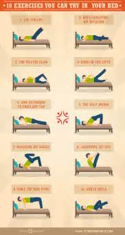 10 exercises you can do in bed exercises workout and