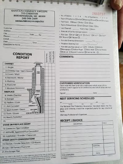 Chimney Inspection Form - chimney inspection doors chimney cleaning