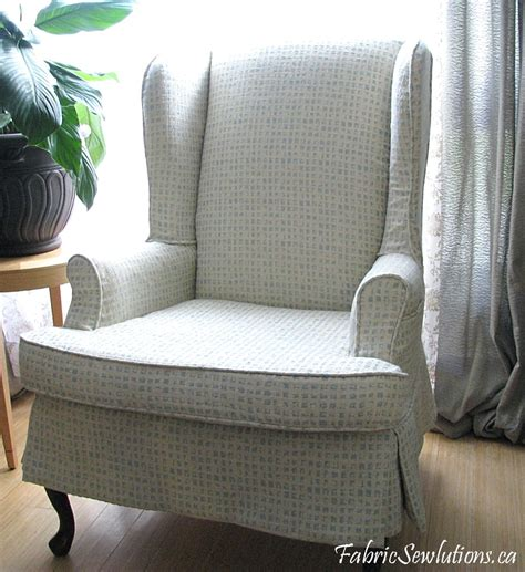 Sewlutions World Wingback Chair Slipcover