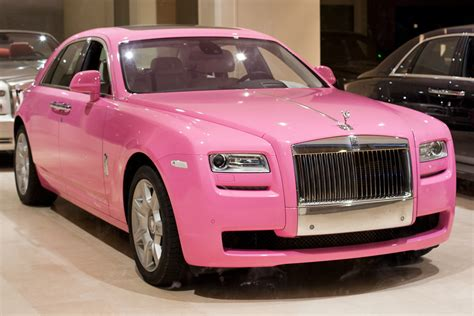 Monte Carlo Weekly Photo The Pink Rolls Royce