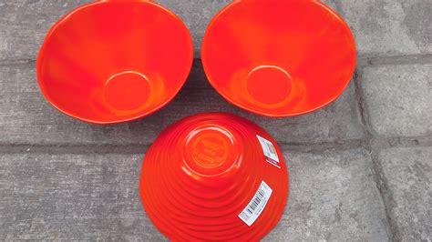 mangkok plastik kecil untuk kuah sup atau tempat hidangan saos kecap mangkok melamin w4006 merk golden selatan jaya