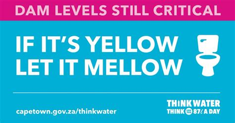 It S Yellow city of cape town on quot if it s yellow let it