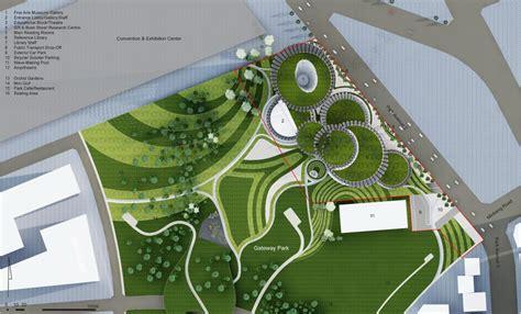 Waterfront Floor Plans luxurious museum architecture design project plan