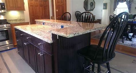 Island Countertop Overhang by Kitchen Island Counter Overhang Navteo The Best