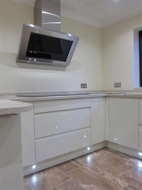 Plinth Lights Kitchen Rimini Handleless Led Plinth Lights Pebble Kitchens