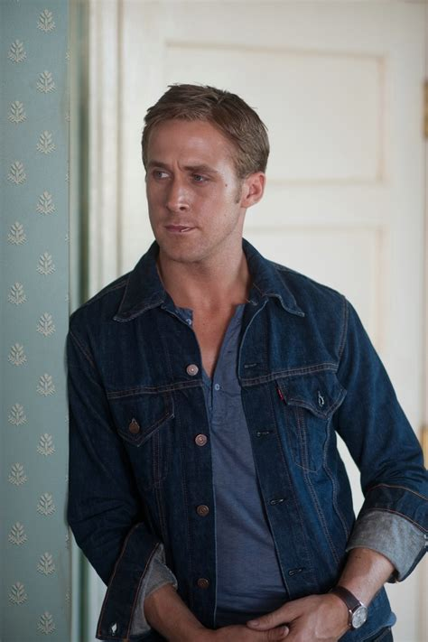drive ryan gosling jacket ryan gosling drive denim jacket clothing records