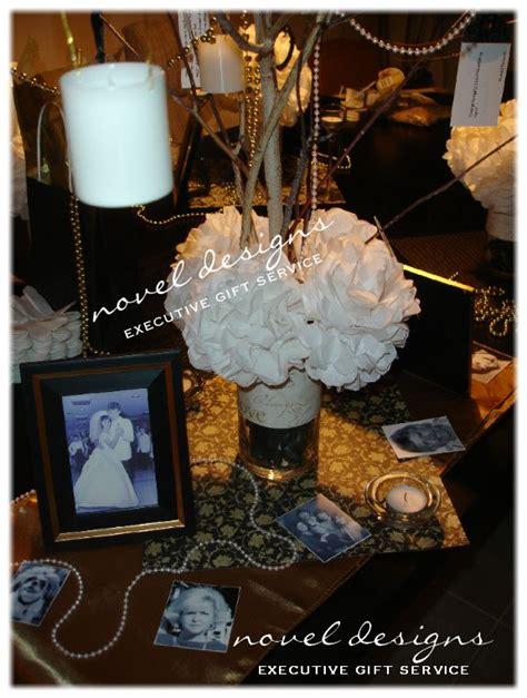 50th Wedding Anniversary Memory Tree Centerpiece W 50 Anniversary Centerpieces