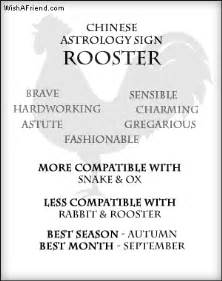 your chinese zodiac profile rooster