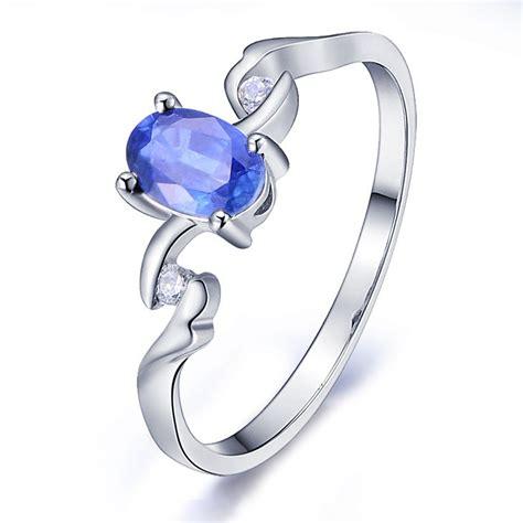 cheap white sapphire engagement rings inexpensive sapphire engagement ring with diamonds on 10k