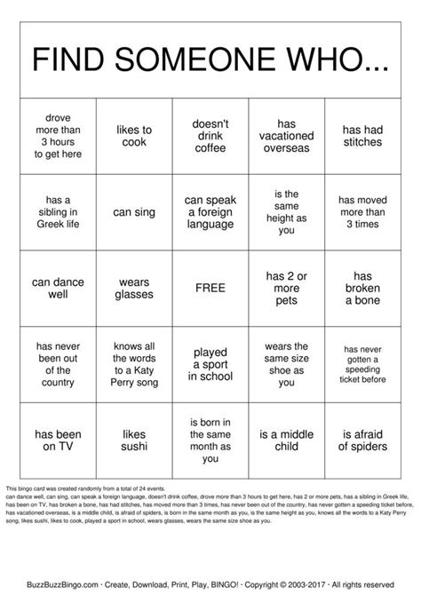 Get To You Bingo Template getting to you bingo cards to print and customize