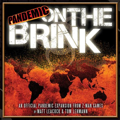 on the brink the board family pandemic on the brink expansion