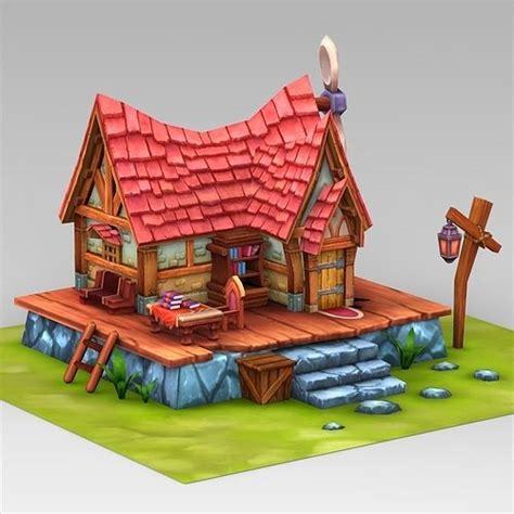 asset fantasy sweet home cgtrader