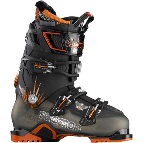salomon ski boots salomon quest 10 ski boots 2012 evo outlet