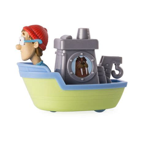 walmart paw patrol boat paw patrol rescue racers captain turbot s boat toy vehicle
