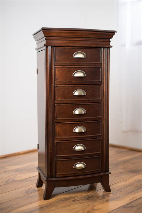 Kmart Jewelry Armoire by Hives Honey Walnut Jewelry Armoire