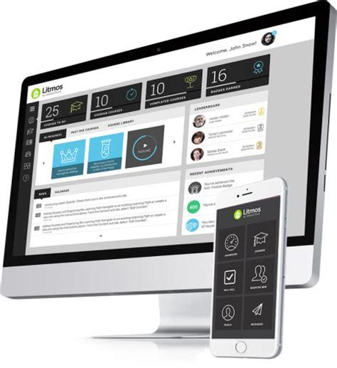 mobile management system learning management system litmos lms