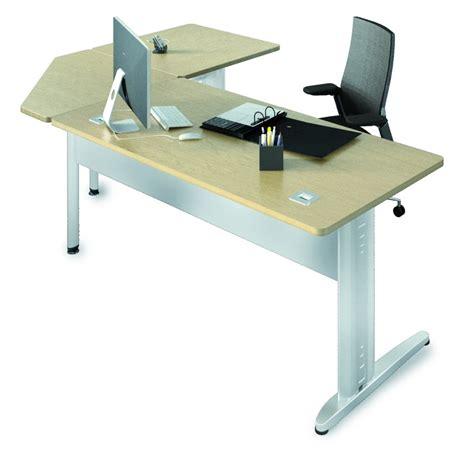 bureau angle droit bureau droit corial 180x80 angle 90 176 retour 80x80