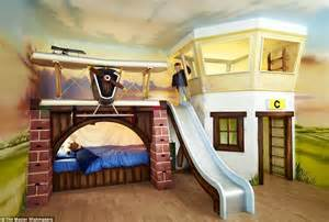 Plans To Build A Loft Bed With Slide by The 163 50 000 Luxury Playhouse That Come With Drive Thru Restaurants Working Car Washes Sweet
