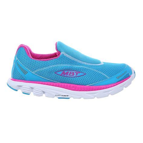 Slip On Fusha 3 mbt speed 16 slip on womens running shoes powder blue