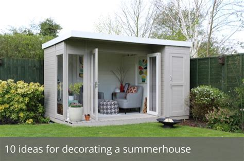 10 Ideas For Decorating A Summerhouse Waltons