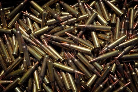file 5 56mm ammunition rounds for sa80 rifle mod 45152184