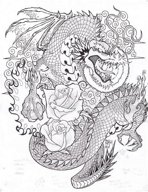 tattoo sketch dragon dragon tattoo sketch by bopet on deviantart