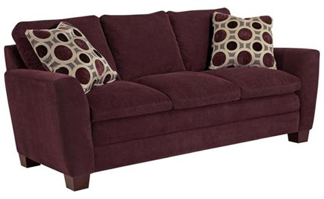 7 Pretty Sofas by Plum Colored Sofa By Broyhill Furniture Color
