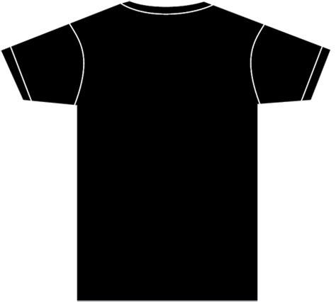 shirt template back t shirt template back clipart best