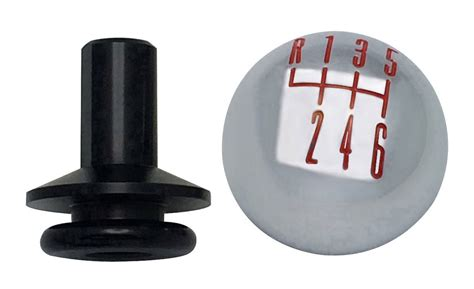 Chrome Shift Knobs by 2011 14 Ford Mustang Chrome Billet 6 Speed Shift Knob W