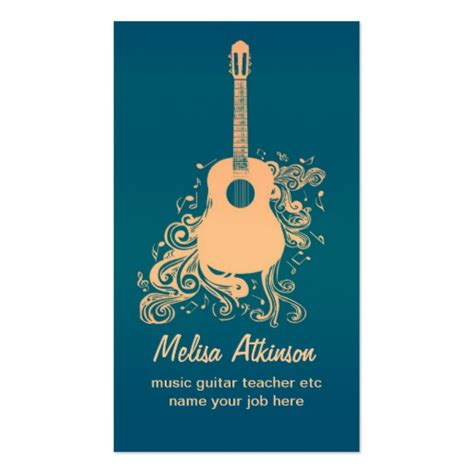 Guitar Center E Gift Card - guitar business card zazzle
