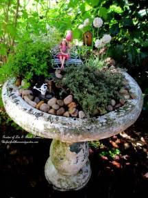 broken bird bath plant it empress of dirt