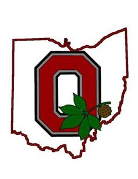 Ohio State Logo Outline by Ohio State Clip Clipart Best