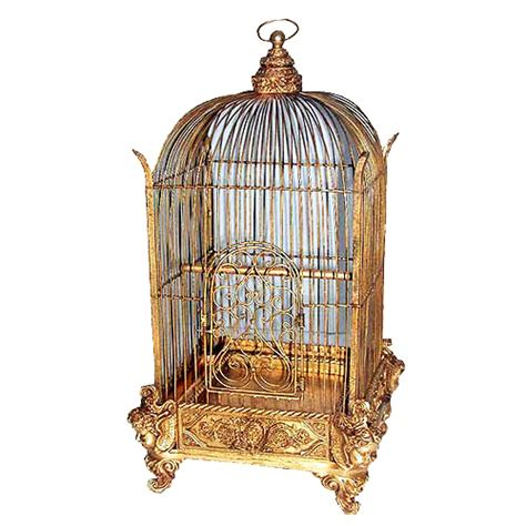 decorative bird cage conservatory gold