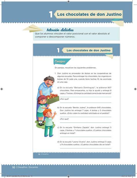 issuu matematicas 6 grado contestado desaf 237 os docente 3 176 primaria by escuelas de tiempo