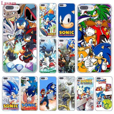 lavaza sonic  hedgehog series hard coque shell phone