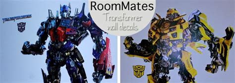 transformers wall stickers new roommates for my boys spoonful of imagination