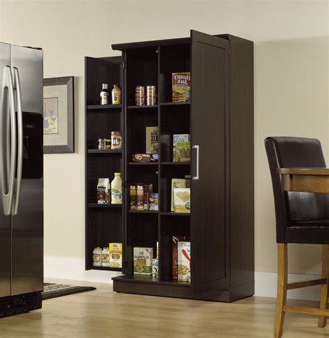 tall pantry storage cabinet kitchen organizer food shelves