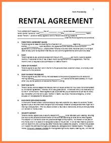 Printable Sample Non Disclosure 4 residential lease agreement template word purchase