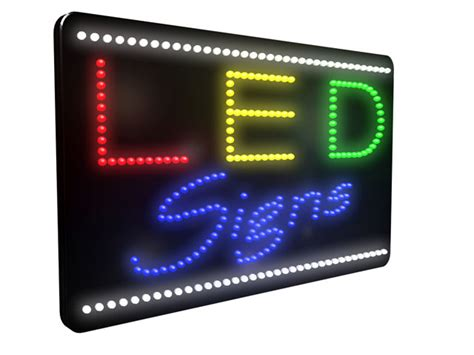 led signs led signs in boston ma metro sign awning