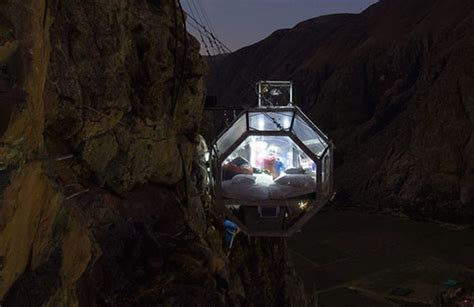 Valley Comfort Systems The Cliff Hanging Natura Vive Skylodge In Peru