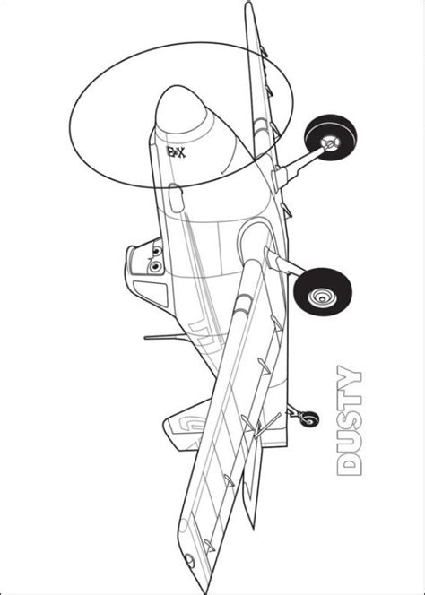 kids n fun com coloring page planes dusty