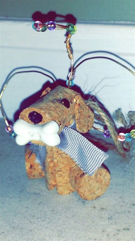 how to make a dog cork ornament 350 best images about cork crafts on chagne corks wine bottle corks and reindeer