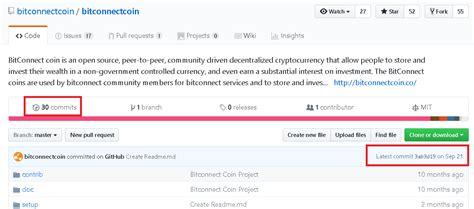 Bitconnect Github   i m not falling for it bitconnect steemit