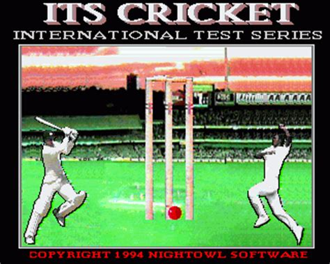 emuparadise cricket 2000 its cricket international test series rom